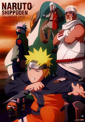 Calendario Naruto