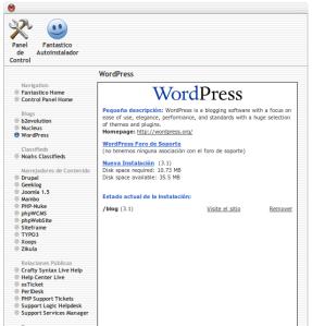 instalar-fantastico-wordpress