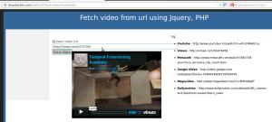 cargar vídeo desde url