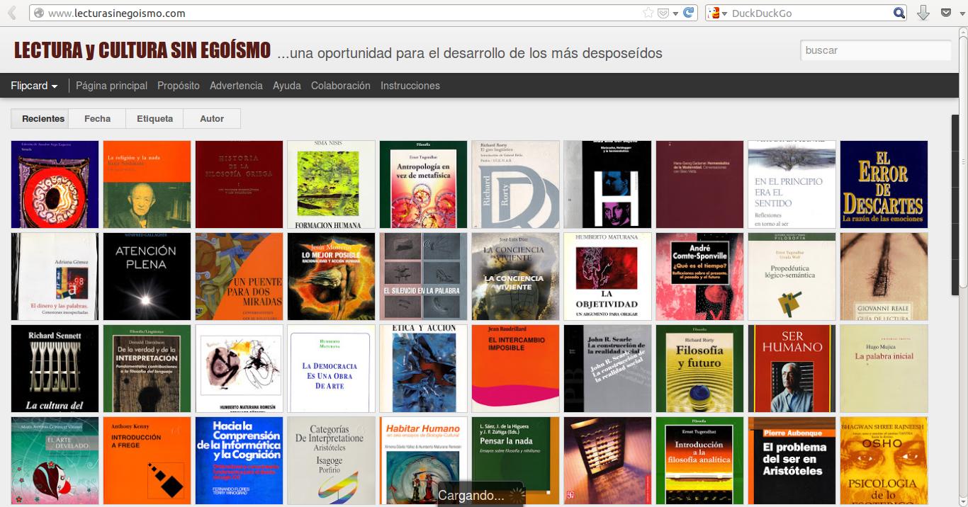 Lectura Y Cultura Sin Egoísmo Una Oportunidad Para El Desarrollo De Los Más Desposeídos Otro Espacio Blog
