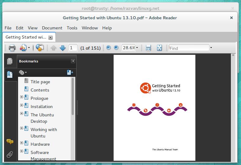 instalar adobe reader en linux mint