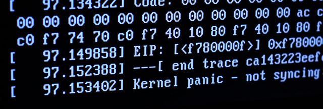 kernel panic en linux